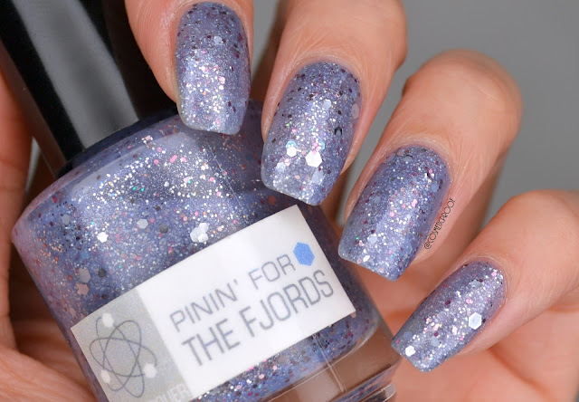Nerd Lacquer Pinin' for the Fjords Nail Polish Swatch
