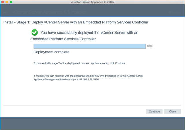 How to Deploy the vCenter 6 5 Server Appliance - TECHSUPPORT