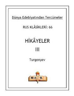 Ivan Turgenyev - Hikayeler 3
