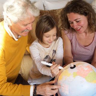 Globes make Great Teaching Tools