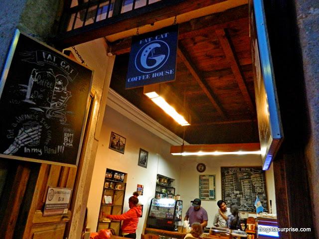 Café em Antigua: Fat Cat Coffee House