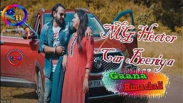 MG Hector Car Beeniya mp3 Song download   Kuldeep Sharma  ~ Gaana Himachali