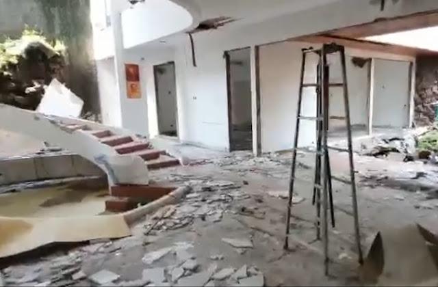 Rumah Mewah Dirampok Selama Seminggu: Ubin, Kusen Pintu hingga Lampu Dipreteli Semua