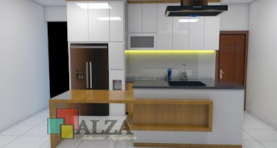 Kitchen Set plus Meja Island Mojokerto