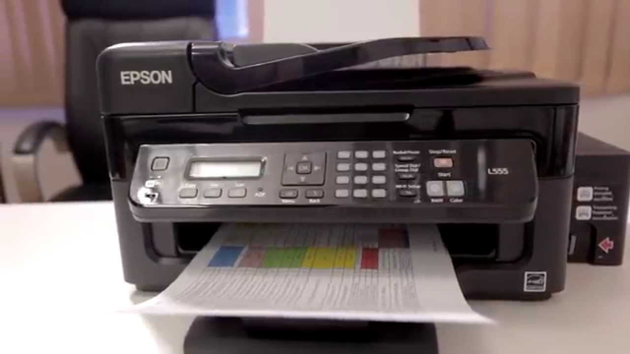 The All-in-one Epson L-655 series printer- A Review