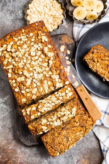 INTERNATIONAL:  Bread of the Week 23 - Oatmeal Banana Bread