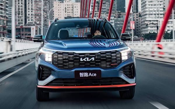 Kia Sportage 2022 Ace tem novidades e visual diferenciado para China