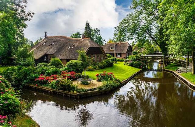 طبيعة هولندا الجميلة