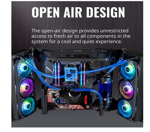 Cooler Master MasterFrame 700 Open-Air ATX PC Case