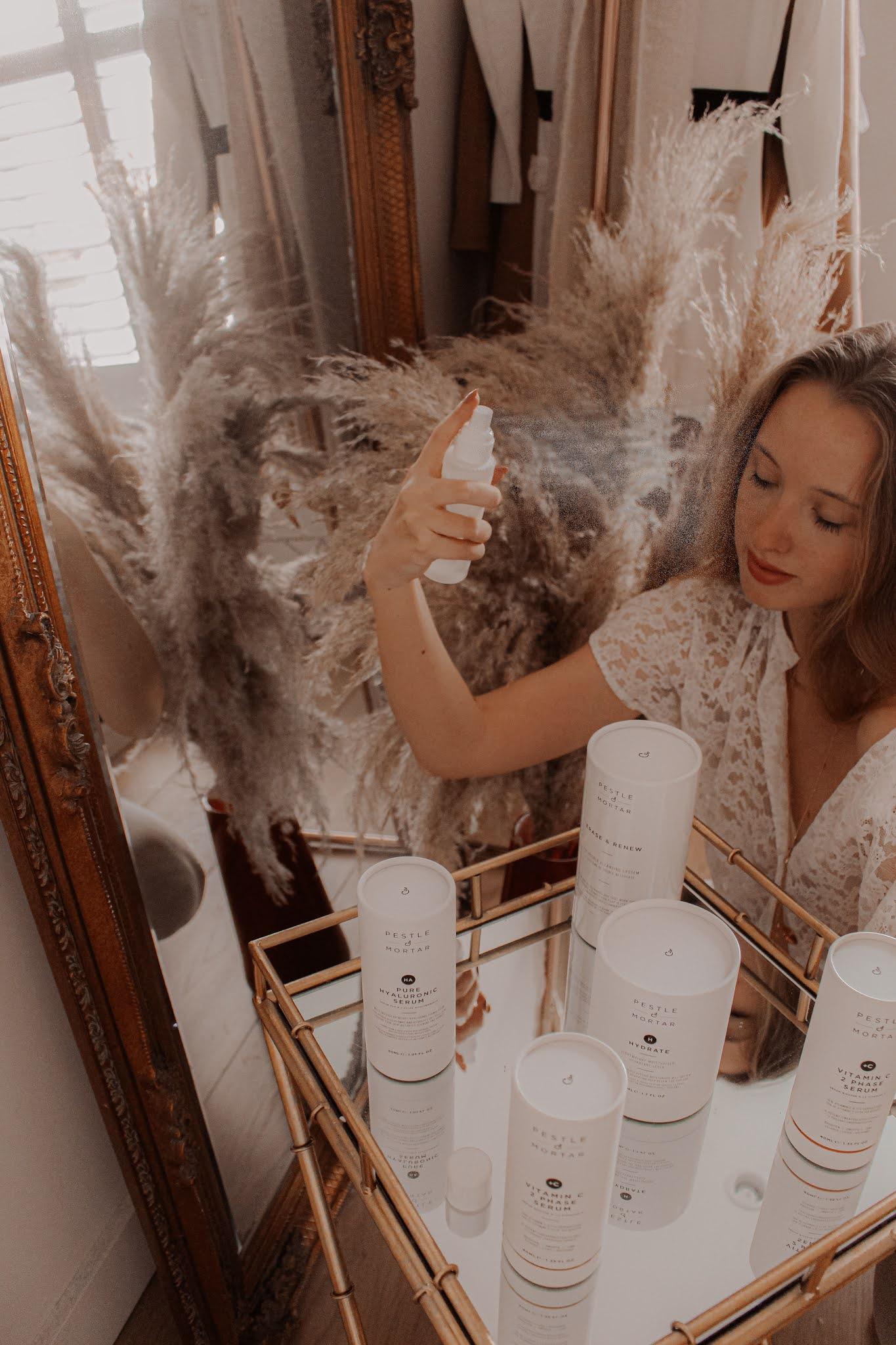 Pestle & Mortar skincare essentials beauty blog review