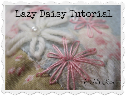 Lazy Daisy Tutorial...