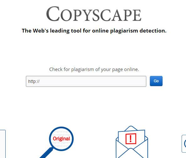 Plagiarism detection online