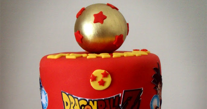 Delana S Cakes Dragon Ball Z Cake