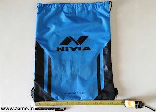 NIVIA Drawstring Bag - Review - 02