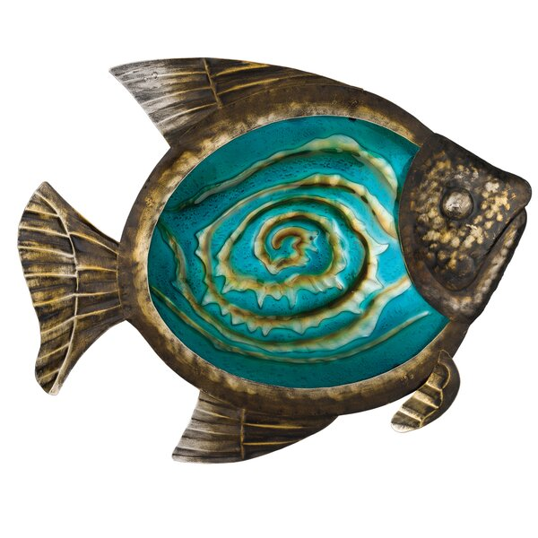 Bronze Fish Wall Decor