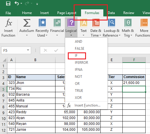 How To Use The If And Vlookup Functions Together In Excel And