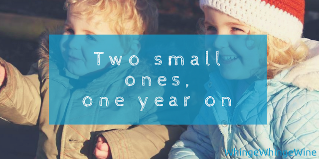 Two small ones, one year on: How times have changed - from having two under two to a toddler and a preschooler