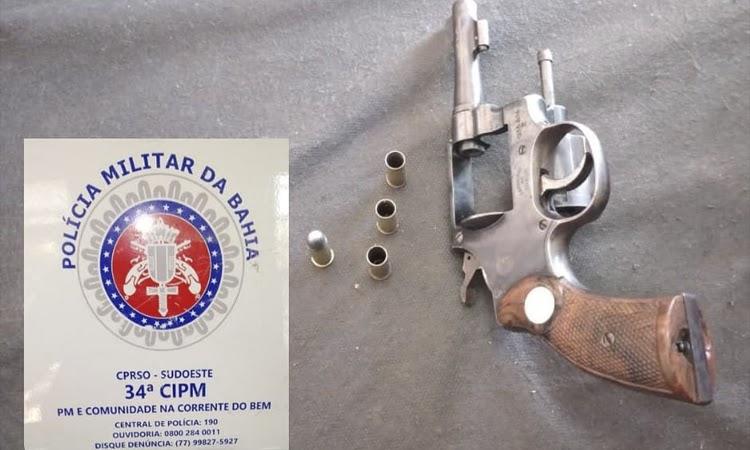 Pai tenta matar o próprio filho a tiros no distrito de Cascavel em Ibicoara