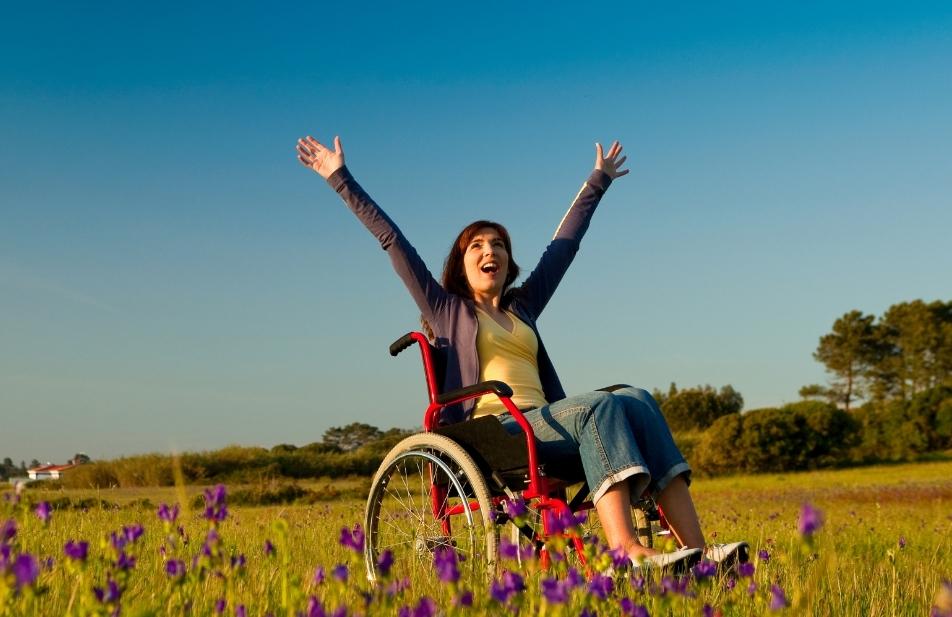 Mulher com Deficiência Poderosa