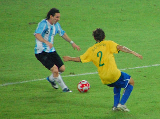 Messi en action