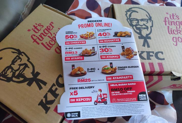 Baucer Diskaun KFC