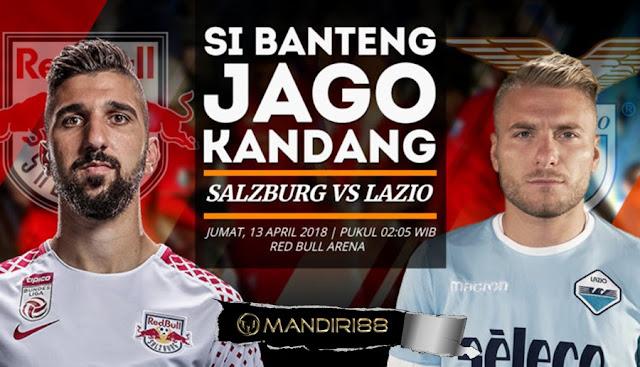 Prediksi Red Bull Salzburg Vs Lazio, Jumat 13 April 2018 Pukul 02.05 WIB