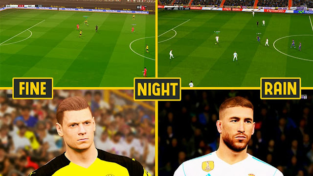 R4 Amazing Pitch PES 2017