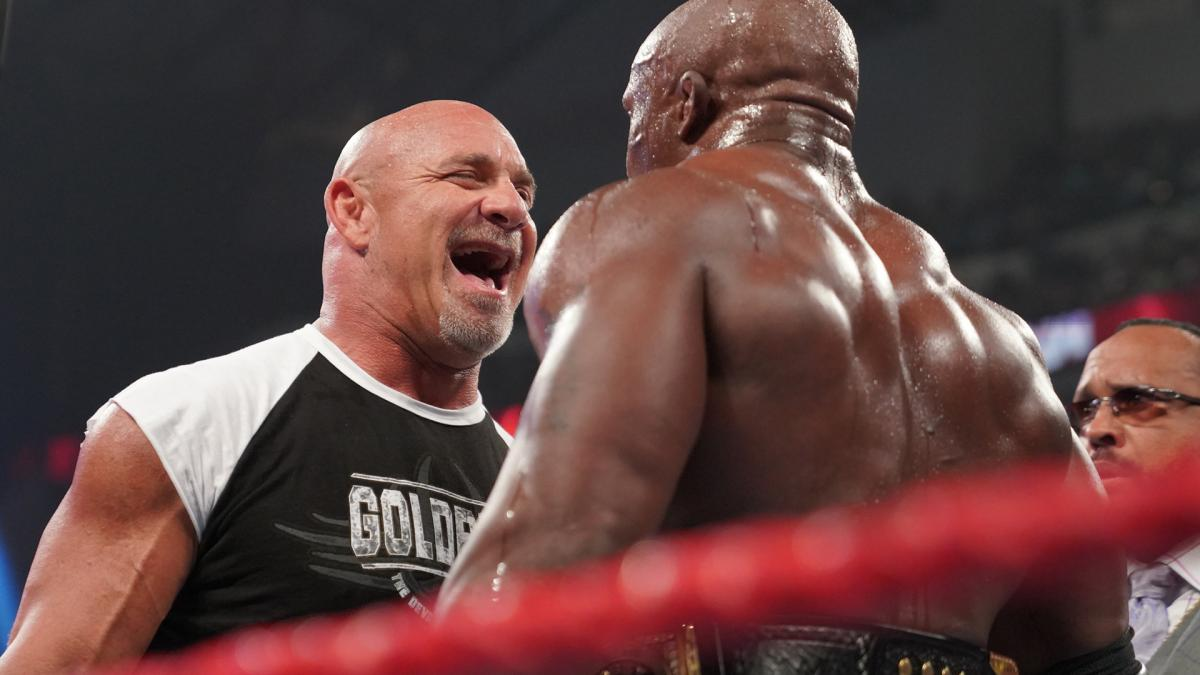 Goldberg visszatért a WWE-be, rögtön a vb címért! - videó