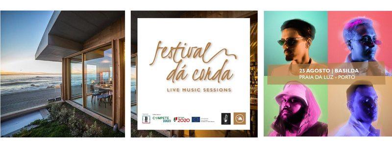 Depois dos Basilda, o Festival Dá Corda prossegue dia 22 de Setembro com o concerto de Raquel Martins na Quinta do Vallado Wine Hotel, no Peso da Régua, e a 6 de Novembro com Dan Riverman e Sara Cruz no Douro 41 Hotel e Spa em Castelo de Paiva.