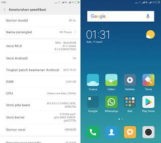 Fastboot ROM Xiaomi Mi 4c Bahasa Indonesia