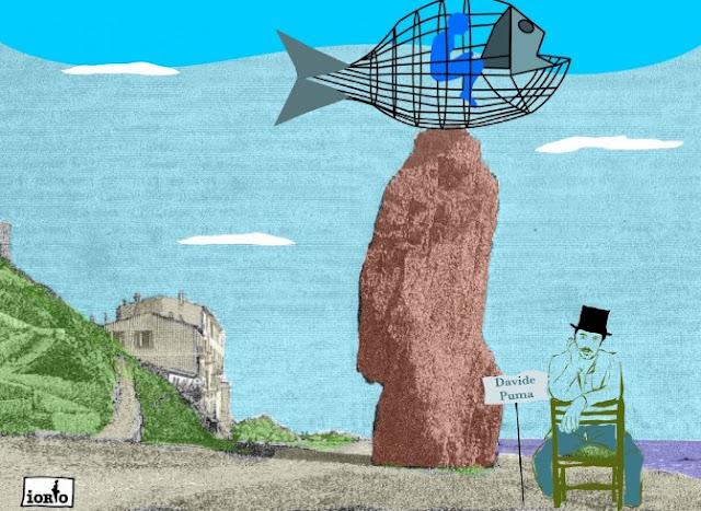 Ventimiglia, arriva Giuán, il pesce mangiaplastica ideato da Davide Puma