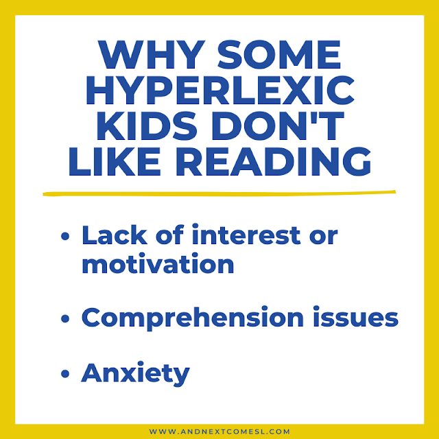 3 common reasons why some hyperlexic kids suddenly dislike reading (even though they can read!)