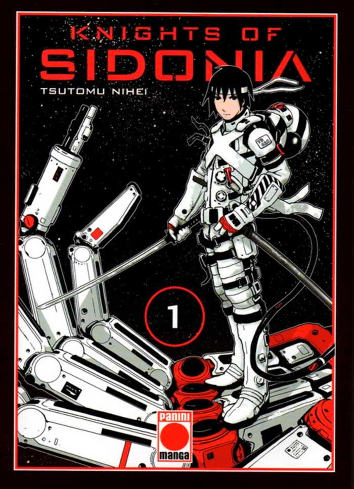 Knights of Sidonia (Sidonia no Kishi) manga - Tsutomu Nihei - Panini Comics