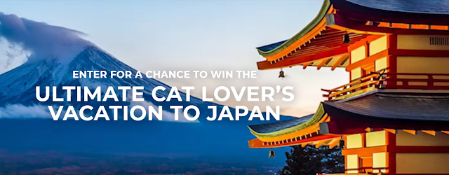 Fresh Step makes the world a more welcoming place for cats and their people and they want to send a lucky winner to Tokyo, Japan for the ultimate cat-cation!
