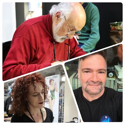 Jill Thompson, José Villarubia y Esteban Maroto, asistirán al  Heroes Comic Con Madrid.