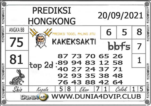 Prediksi Togel HONGKONG DUNIA4D 20 SEPTEMBER 2021