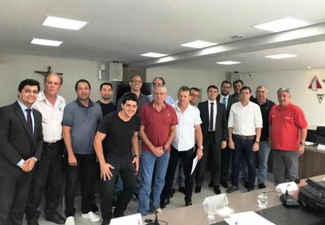 A reunião do Conselho Técnico para definir detalhes sobre o Módulo II 2019 foi realizada na tarde do dia 30 de outubro, no 2° andar da sede da FMF.