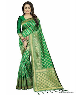 south indian half saree