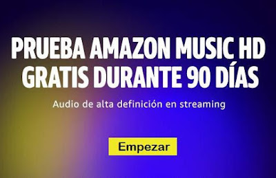 Prueba gratis Amazon Music HD