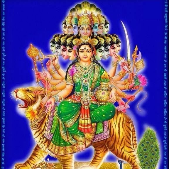 Mata Rani Wallpaper 3d The World Of Bhajan And Gurbani Maa Nav Durga Wallpaper