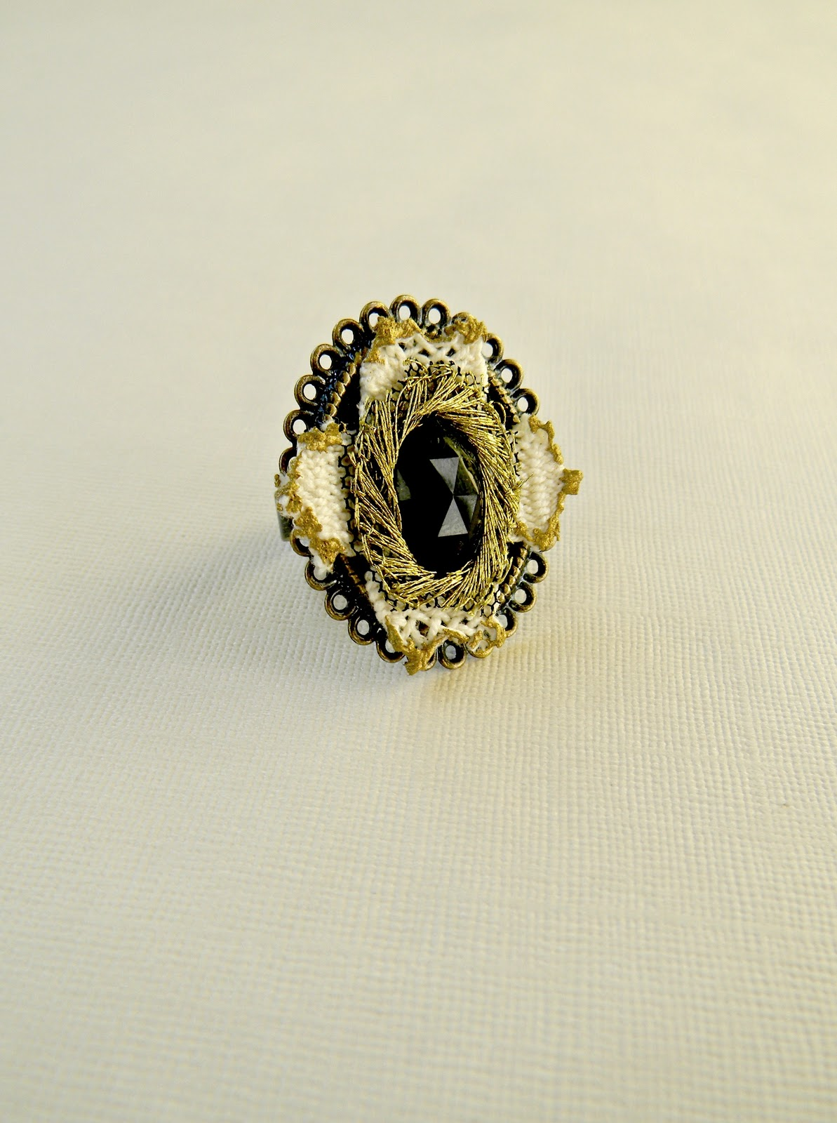 """Baroque Melancholy"" Ring No3"