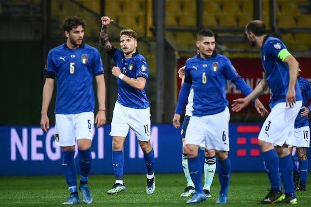 Italia vs Austria 27 Juni 2021