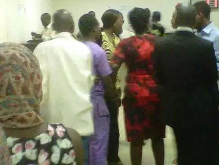 man steals church members iphone ipad ibadan