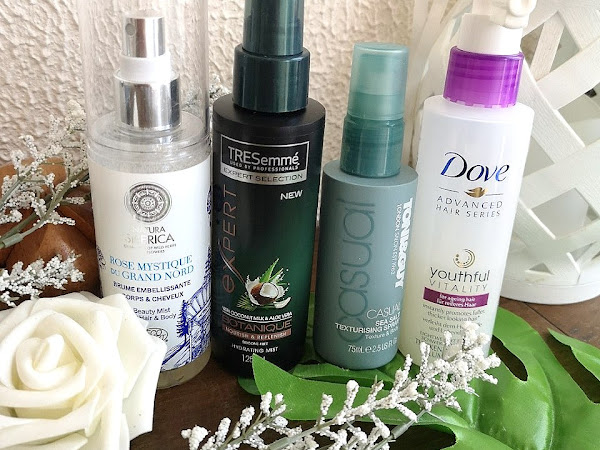 Hair products - what I am using for summer