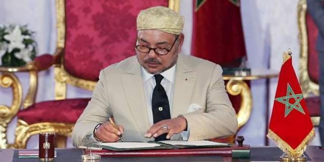 جلالة الملك محمد السادس يهنئ رئيس جمهورية كوت ديفوار بمناسبة العيد الوطني لبلاده