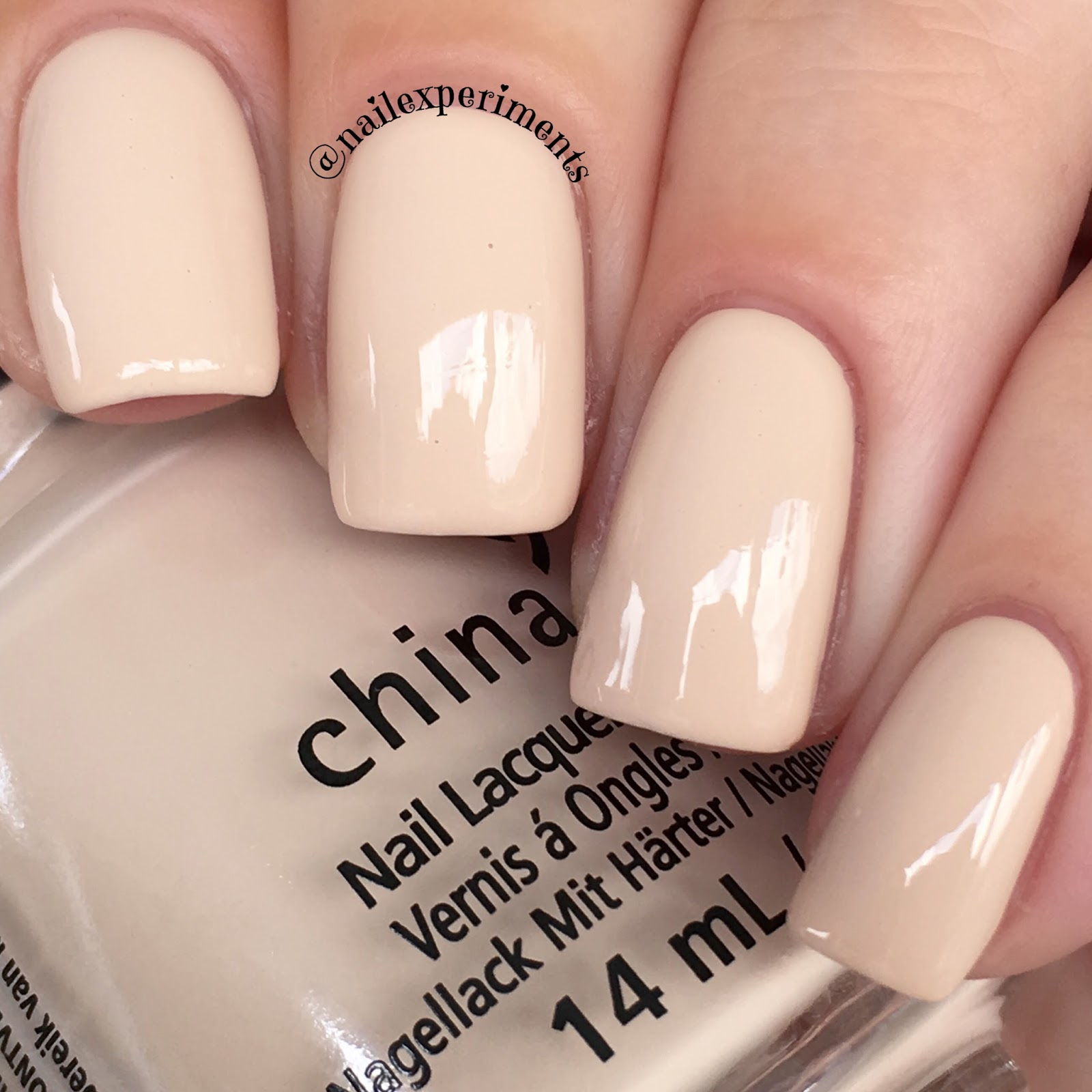 China Glaze bourgeois beige swatch