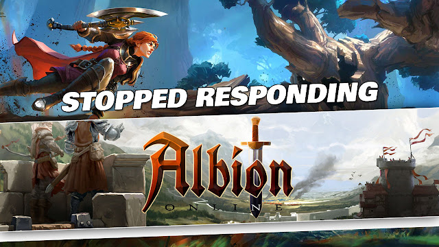 Albion Online Gameplay by Kabalyero! STOPPED RESPONDING a Few Times!