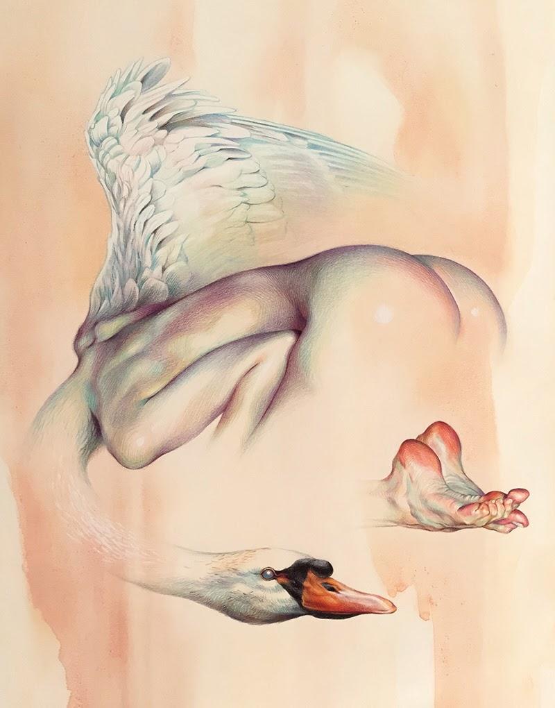 Paintings by Wanjin Gim from Seoul, Korea.