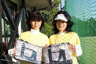 デ・ポーム・ワールド航空杯 第十一回大会 優勝:飯高・小島ペア