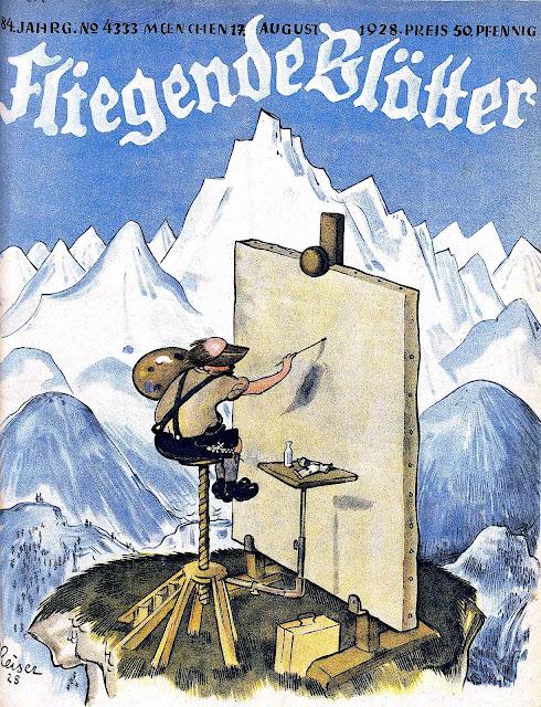 Fliegende Blotter,  a 1928 humor magazine